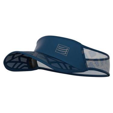 Viseira Compressport Ultralight SPIDERWEB - Azul Marinho