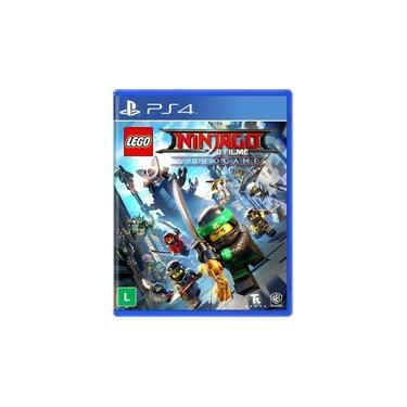 Lego Ninjago The Videogame - PS4 - dublado em português