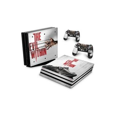 Skin Adesivo para PS4 Pro - The Evil Within