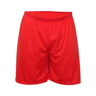 Calção Futebol Kanga Sport - Calção Vermelho - GG