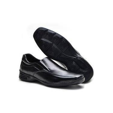 Sapato Social Masculino em Couro Conforto E-Shoes 7003 Preto c9428936cd6