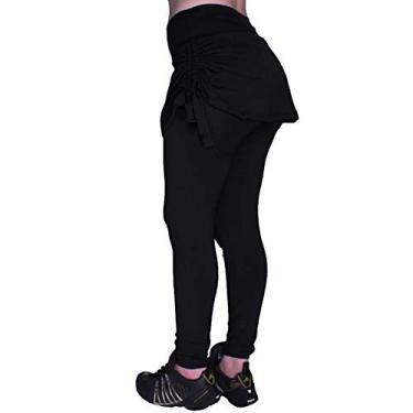 Imagem de Legging Saia Tapa Bumbum Suplex Fitness, Ginastica, Caminhar, Moda Evangélica, Legg Dia a Dia, Academia (GG)
