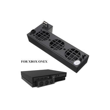 Controle de 3 Botões Host do Jogo Cooler Ventiladores Controle de Temperatura Ventilador de refrigeração inteligente para Xbox One / X Para consoles de jogos com 3 fãs