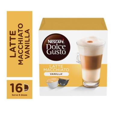 Capsulas Dolce Gusto Vanilla Latte Macchiato 16 capsulas - Nescafé Dol
