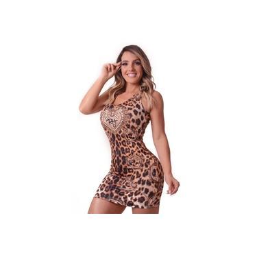 Vestido Onça - Animal Print