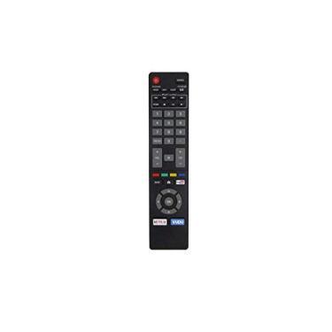 Controle remoto de substituição HCDZ para Magnavox 50MV376Y 50MV376Y/F7 50MV376Y/F7B 55MV346X 55MV346X/F7 55MV376Y 55MV376Y/F7 1080p Smart LED LCD HDTV TV