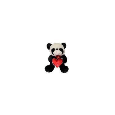 Imagem de Urso Panda Grande De Pelúcia Com Coração Te Amo 45 Cm