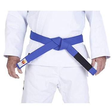 Faixa Dragão p Jiu Jitsu Azul Escuro Adulto