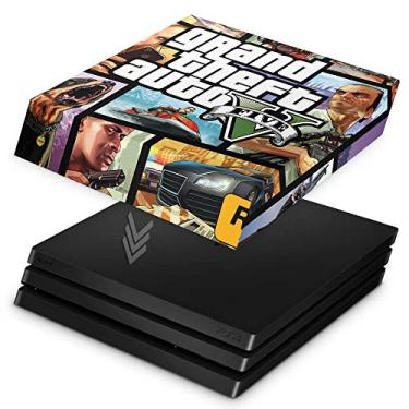 Capa Anti Poeira para PS4 Pro - GTA V