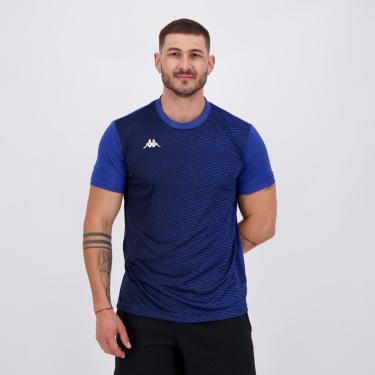 Camisa Kappa Campbell Azul - P