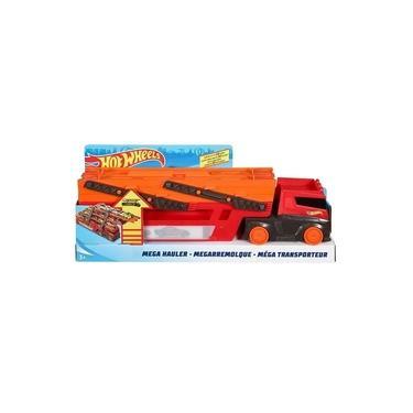 Imagem de Caminhão Hot Wheels Mega Red Hauler Mattel