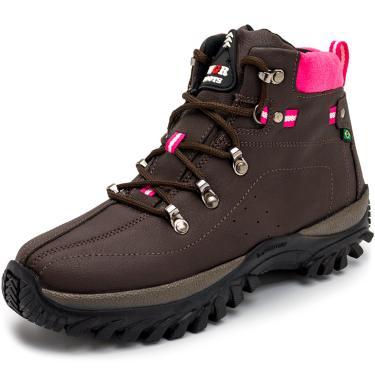 Bota Adventure Trilhas e Caminhadas WGR Boots Marrom  feminino