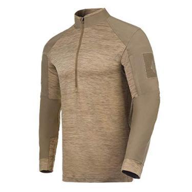 Camisa de Combate Invictus Hawk 2.0 Caqui Mojave - Beige - G