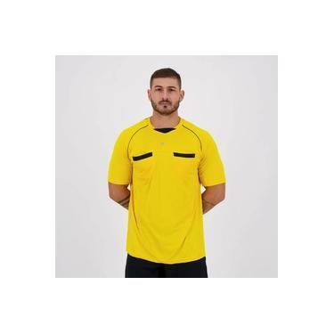 Camisa Poker Árbitro VI Amarela