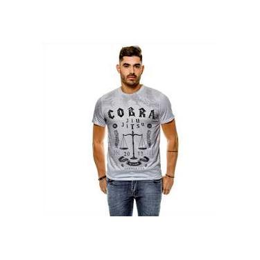 Camiseta Jiu Jitsu Cobra Masculina Slim
