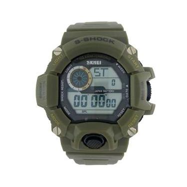 deaf2029af9 Relógio Masculino Skmei Digital 1019 Verde
