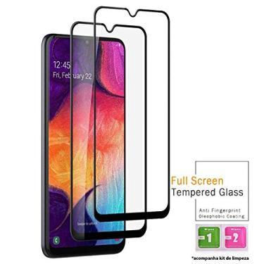 Kit 2x Películas Vidro 3D Samsung Galaxy A30 A50 A70 A51 A71 + Kit Aplicação (Galaxy A50)