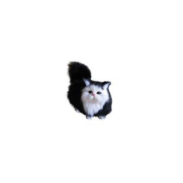 Imagem de Simulação Gato De Pelúcia Enfeites Decoração Simulação Modelos Animais y52833