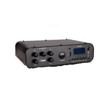 Amplificador Compacto de Potência SA10 - NCA - COM RÁDIO FM E USB