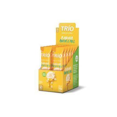 Trio Barra Cereal Original Banana Aveia Mel C/12