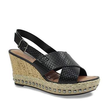 Sandália Plataforma Dakota Feminina Salto Cortiça