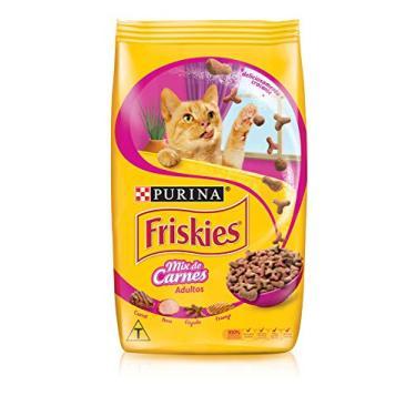 Nestlé Purina Friskies Ração Seca Para Gatos Adultos Mix De Carnes 10,1Kg