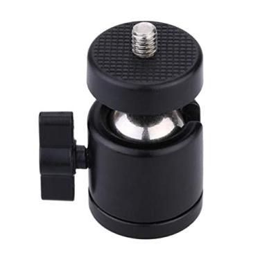 Imagem de kesoto Tripé Mini Cabeça Esférica Cabeça de Tripé Giratória de 360 ° com Parafuso de 1/4 para