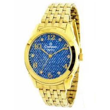 5230acd7ca6 Relógio Feminino Champion Dourado - cn26984a