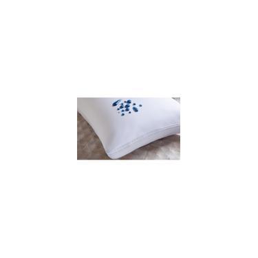 Imagem de Capa Para Travesseiro Impermeável Kit 4 Peças Branco