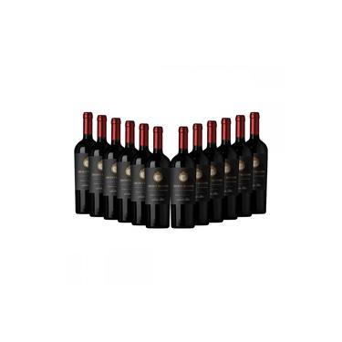Kit com 12 Garrafas de Vinho Chileno Tinto SANTA RITA SECRET Reserva Cabernet Sauvignon cada Garraf