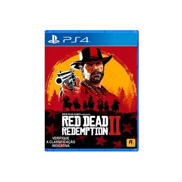Jogo Red Dead Redemption 2 Para PlayStation 4 PS4