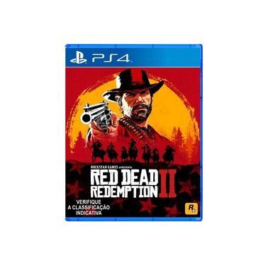 Jogo Red Dead Redemption 2 Para PlayStation 4 PS4