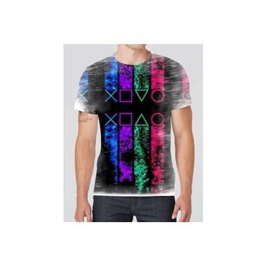 Camiseta Camisa Personalizada Ps1 Ps2 Ps3 Ps4 Games Jogos 01