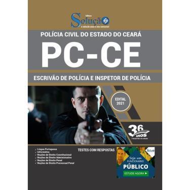 Imagem de Apostila Pc Ce - Escrivão E Inspetor De Polícia Civil