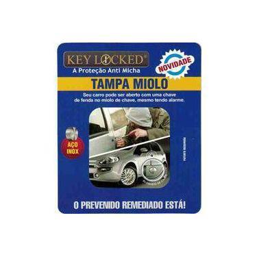 Tampa Antimicha Miolo Fechadura Fiat Grand Siena Keylocked