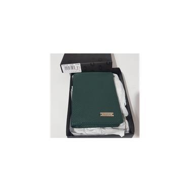 Carteira fasolo verde couro masculina K619336028