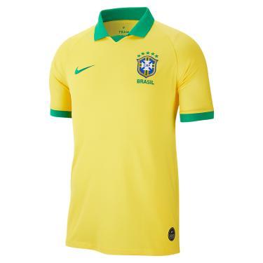 Camisa Nike Brasil Comemorativa Copa América 2019/20 Torcedor Pro M...