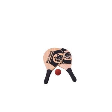 Kit Frescobol Raquete de praia Red Nose - Bel Fix