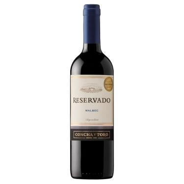 Vinho Tinto Argentino Malbec Concha Y Toro Reservado 750 ml
