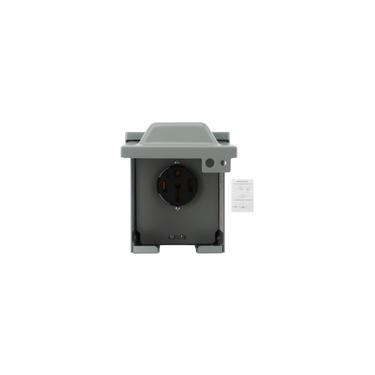 Caixa de saída de energia 50Amp 125V / 250V Tomada elétrica à prova d'água à prova d'água para carro elétrico rv motorhome