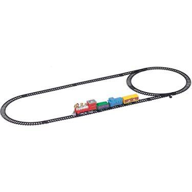 Imagem de Pista Trem Expresso Com Trilho Oval Art Brink Multicor
