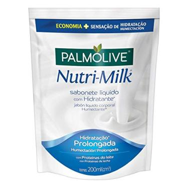 Sabonete Líquido Palmolive Nutri-Milk Hidratante 200Ml Refil