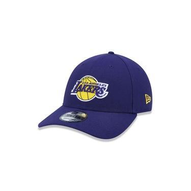 Boné New Era Nba Los Angeles Lakers Team Roxo