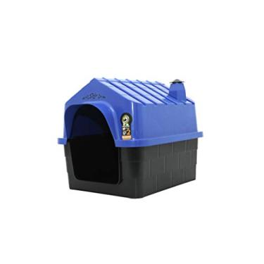 Casinha de cachorro durapet n 3 azul