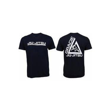 Camiseta Gracie- Jiu-jitsu - Esporte - Luta