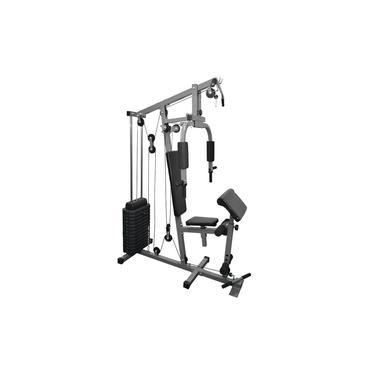 Imagem de Kit Estação De Musculação Aparelho Ginástica Com 80kg FITT10
