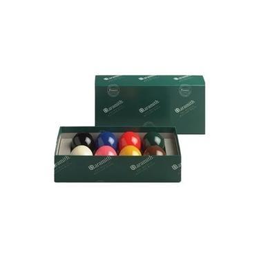 Bola 54 Aramith Belga Snooker Sinuca Bilhar 8 Bola Colorida