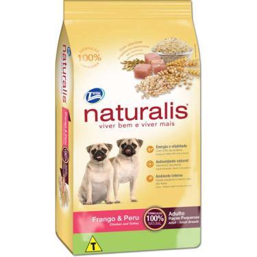 Ração Total Naturalis Frango e Peru para Cães Adultos Raças Pequenas - 15 Kg