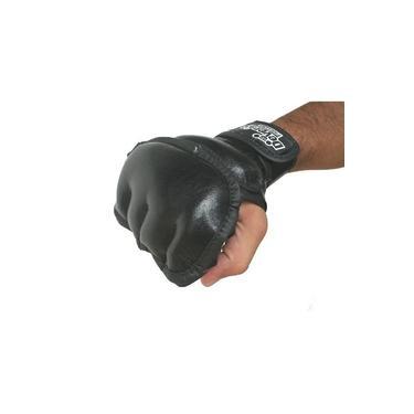 Luva de MMA Boxe Muay Thai Jiu Jitsu Alto Impacto Artes Marciais Preta