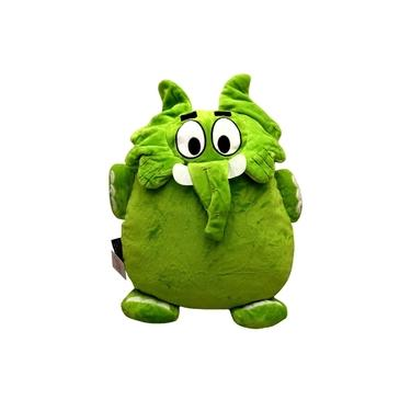 Imagem de Almofada G De Pelúcia Boneco Elefante Verde Jotalhão - Personagem Do Desenho Infantil Turma Da Mônica - Tasco Brinquedos
